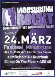 """""""MOOSBRUNN ROCKT"""" unterstützt Jugendarbeit des Musikvereines"""